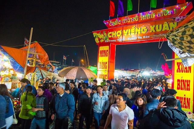 Vieng market festival in Nam Dinh province 1