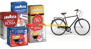 Logo Lavazza: gusta i classici e vinci 100 biciclette Bianchi