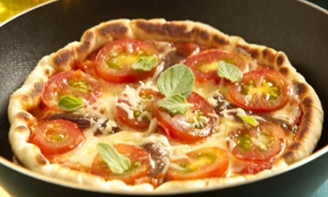 Pizza de Frigideira Pronta