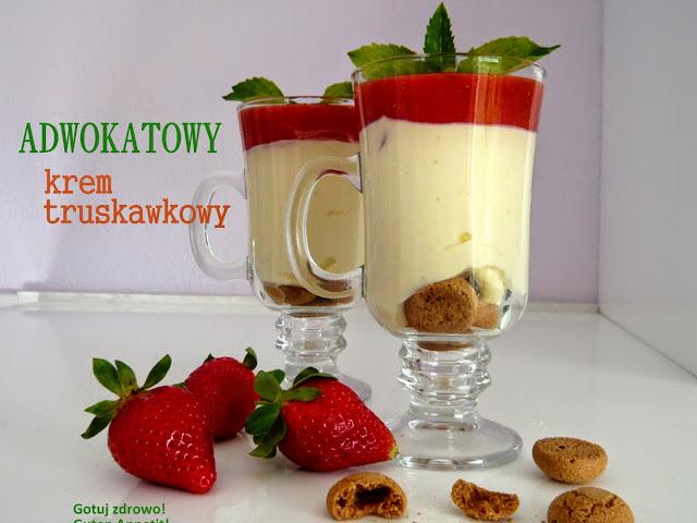 Błyskawiczny adwokatowy deser truskawkowy - Czytaj więcej »