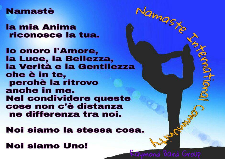 Namaste International Community Le Frasi Piu Belle