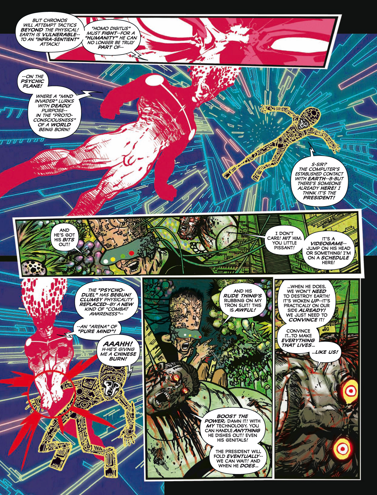 Read online 2000 AD comic -  Issue #1746 - 170