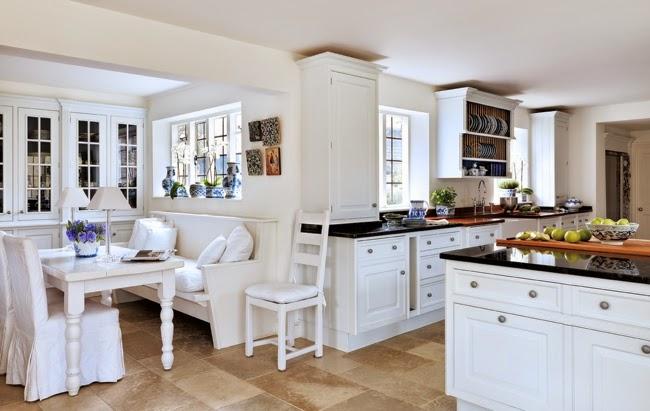 10 fotos de cocinas blancas colores en casa - Cocinas blancas de diseno ...
