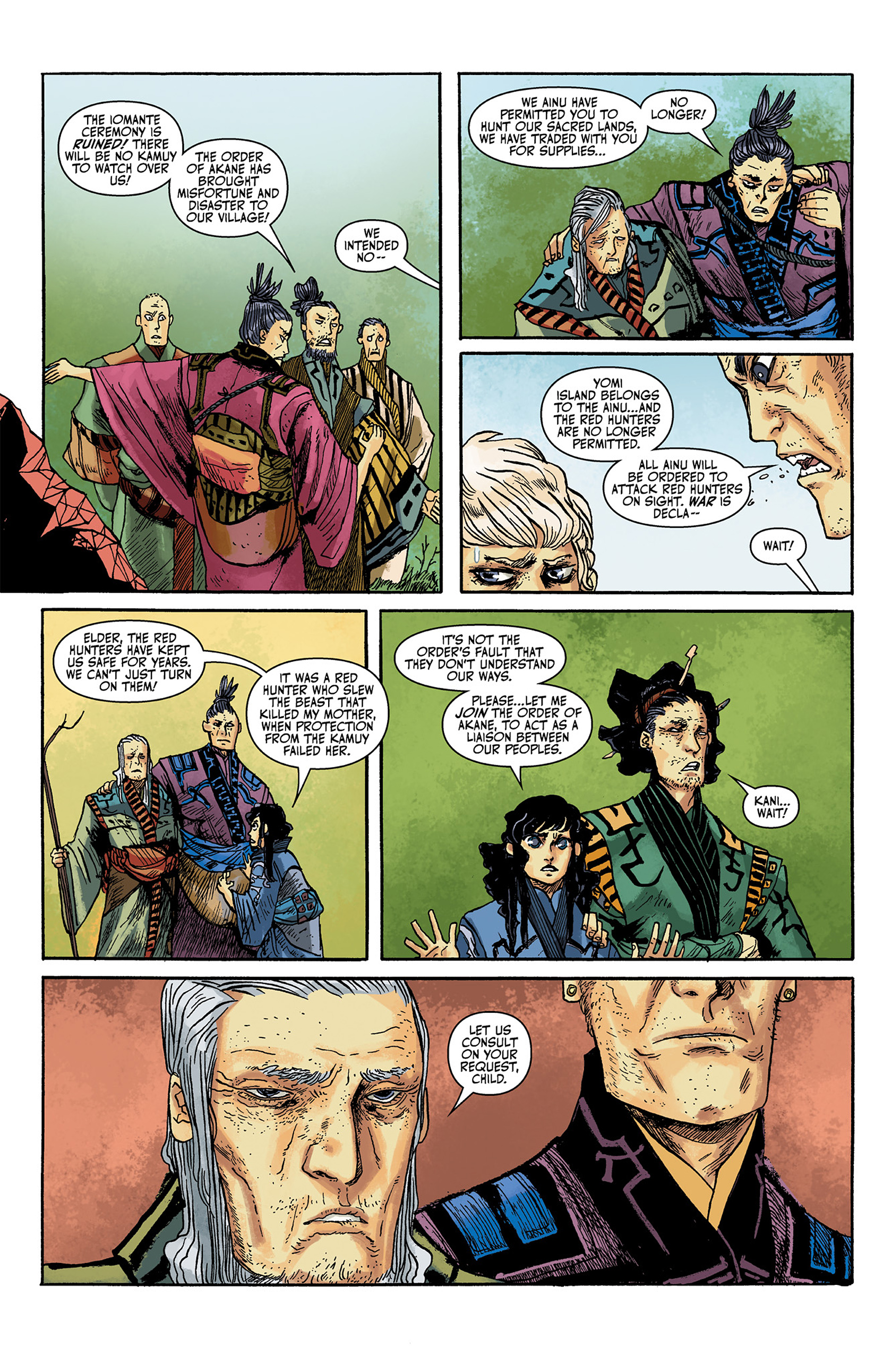 Read online Akaneiro comic -  Issue #1 - 12