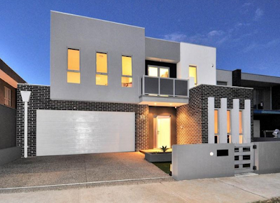 Kumpulan Bentuk Fasad Rumah Minimalis Terbaru 2016 - 007