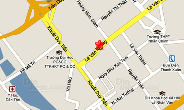 Vị trí chung cư HDI Sunrise Lê Văn Lương