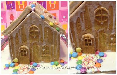 Casetta Di Natale Di Cioccolato : La creatività di anna!!!: la mia casetta di pan di zenzero gingerbread!