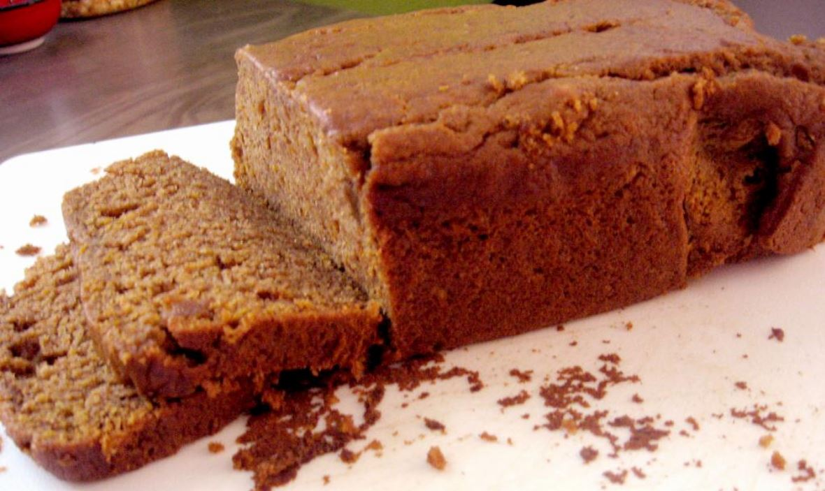 Vegan Pumpkin Bread by freshfromthe.com