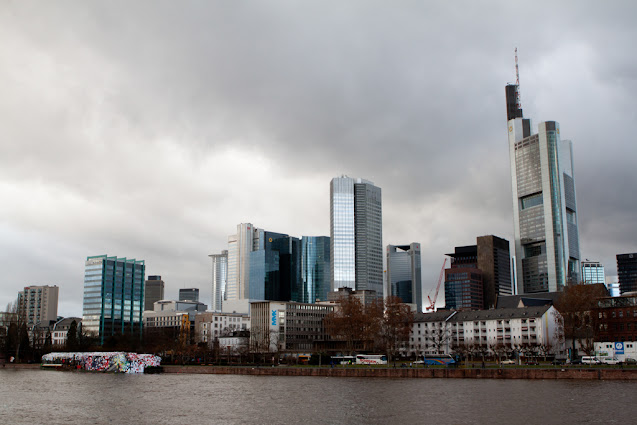 Panorama dall'Eiserner Steg-Francoforte