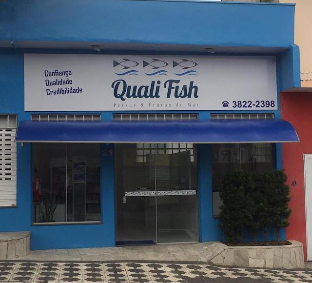 Quali Fish Comércio de Peixes e Frutos do Mar, Telefone (13)3822-2398 fica na Rua José Antônio de Campos nº 21, centro em Registro-SP.