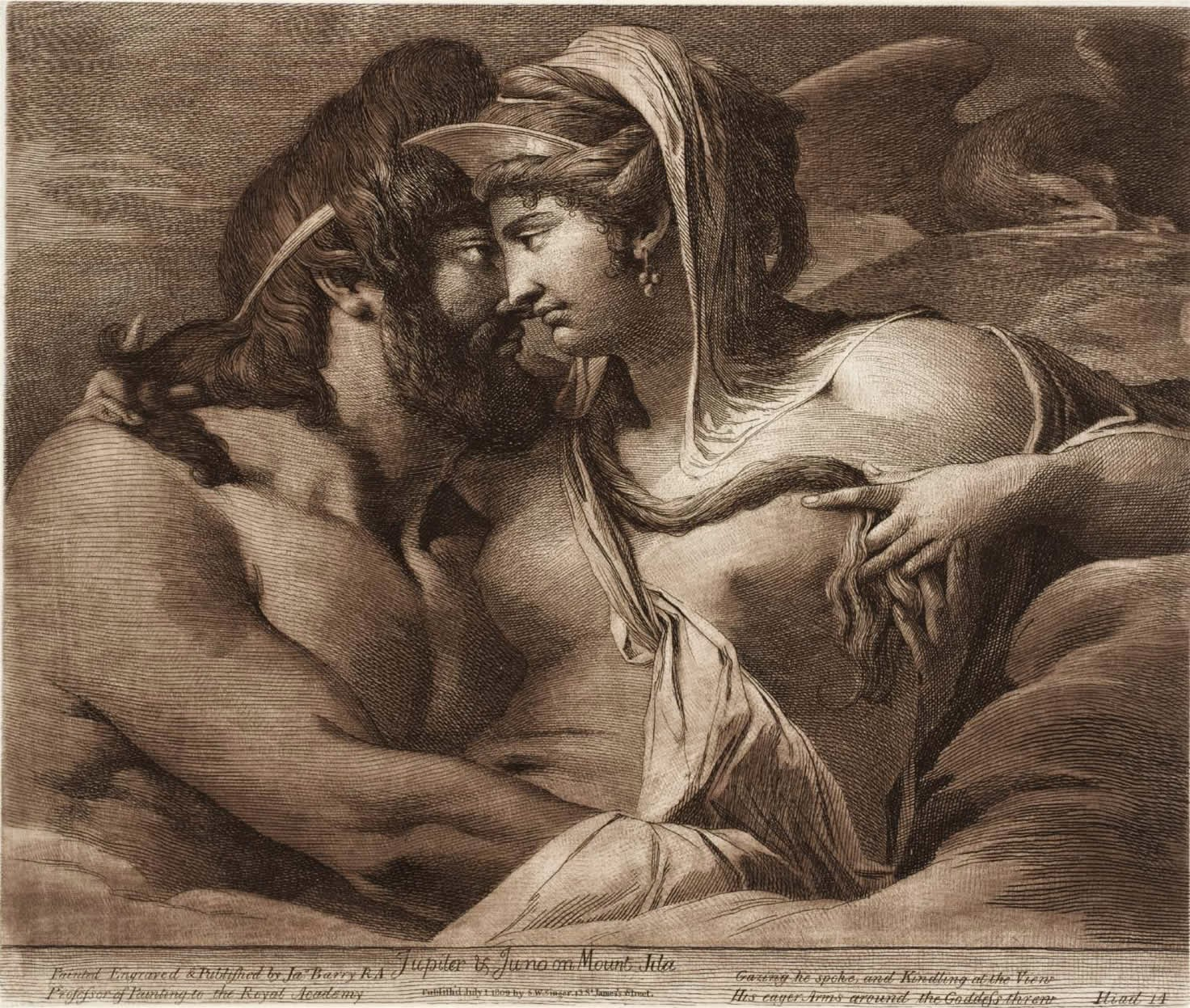 hera and zeus relationship in the iliad