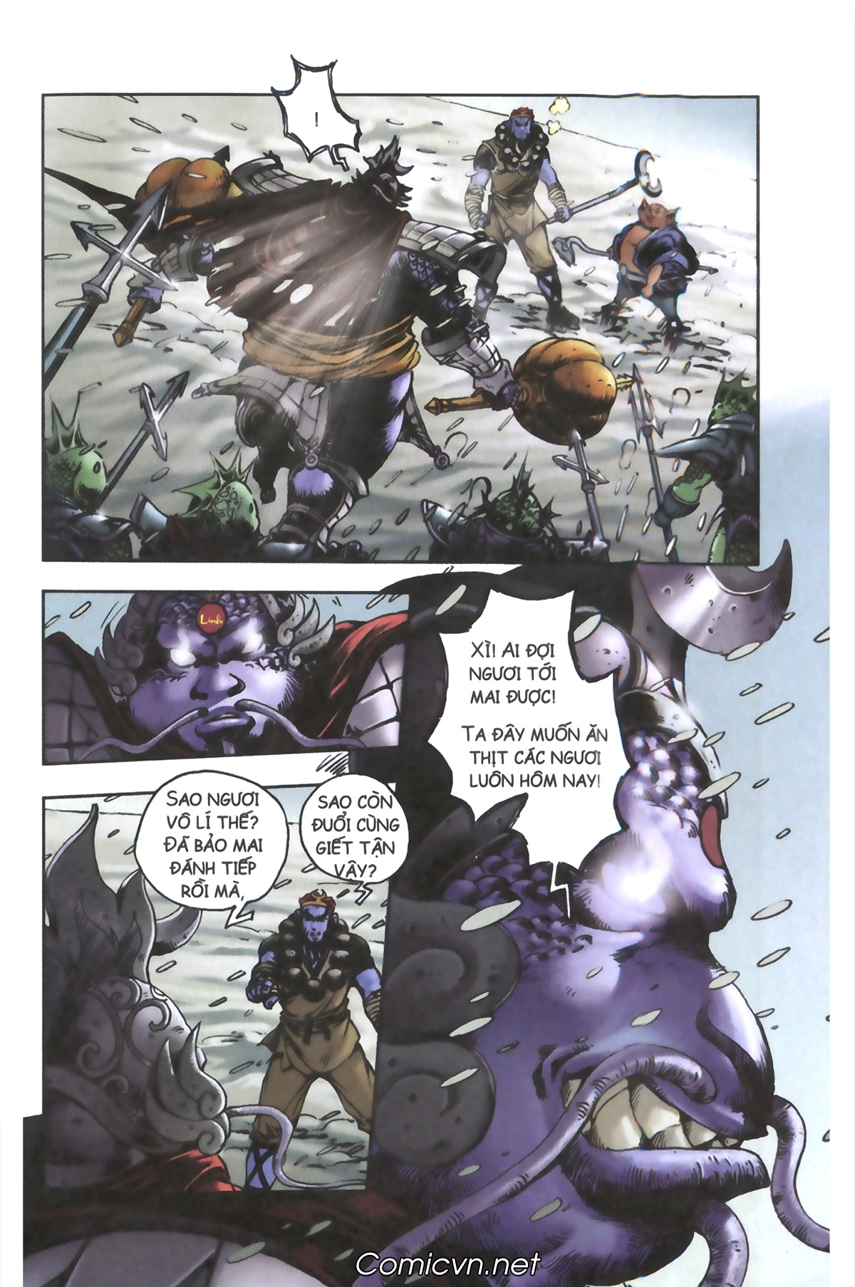 Tây Du Ký màu - Chapter 95 - Pic 8