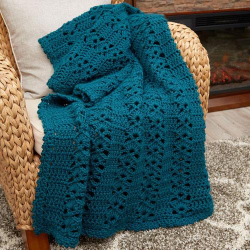 Charming Crochet Throw - Free Pattern