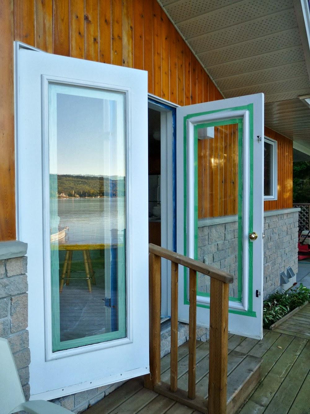 Painting door tips
