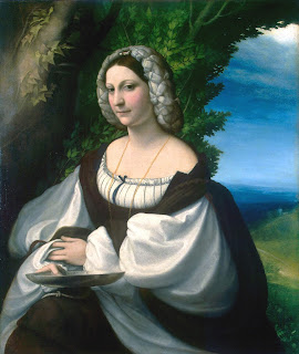 Veronica Gambara, as portrayed by Antonio Allegri, known as Il Correggio