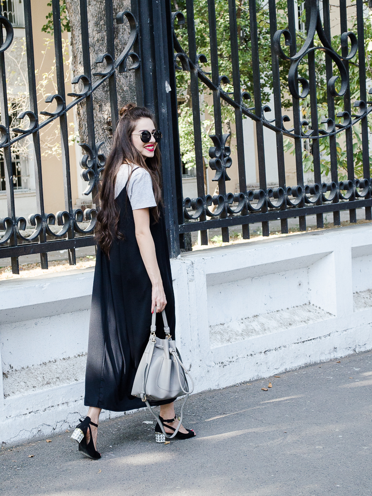fashion-blogger-black-dress-shein-zara-bag