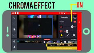 Kinemaster pro Choma Effect