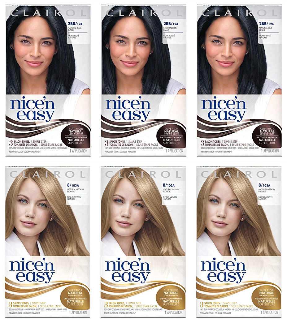 Amazon 544 Reg 2547 Pack Of 3 Clairol Nice N Easy Hair