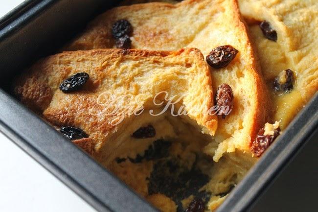 Puding Roti Mudah Dan Sedap