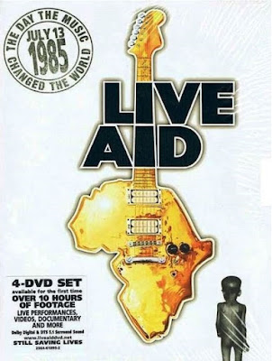 LIVE AID, Concert For África Vol.4 1985 DVD R1 NTSC Sub