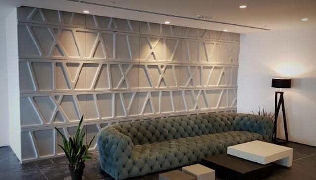 Architektoniczny beton- nowoczesne wnętrze
