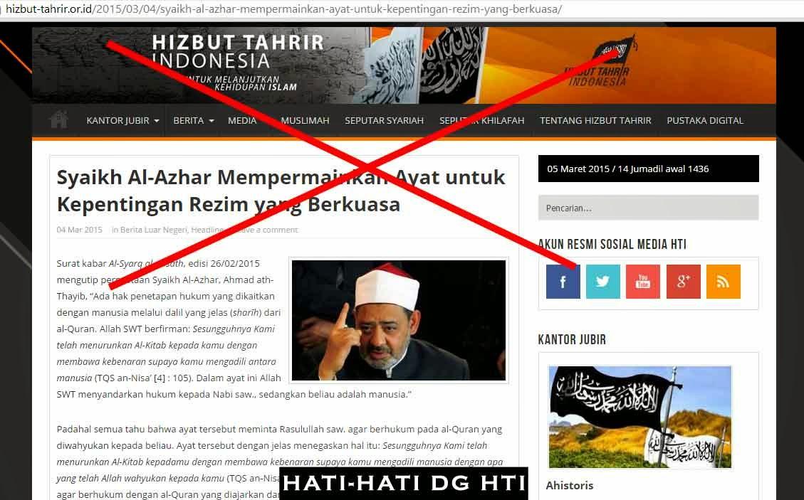 Syaikh Al-Azhar Mempermainkan Ayat untuk Kepentingan Rezim yang Berkuasa?