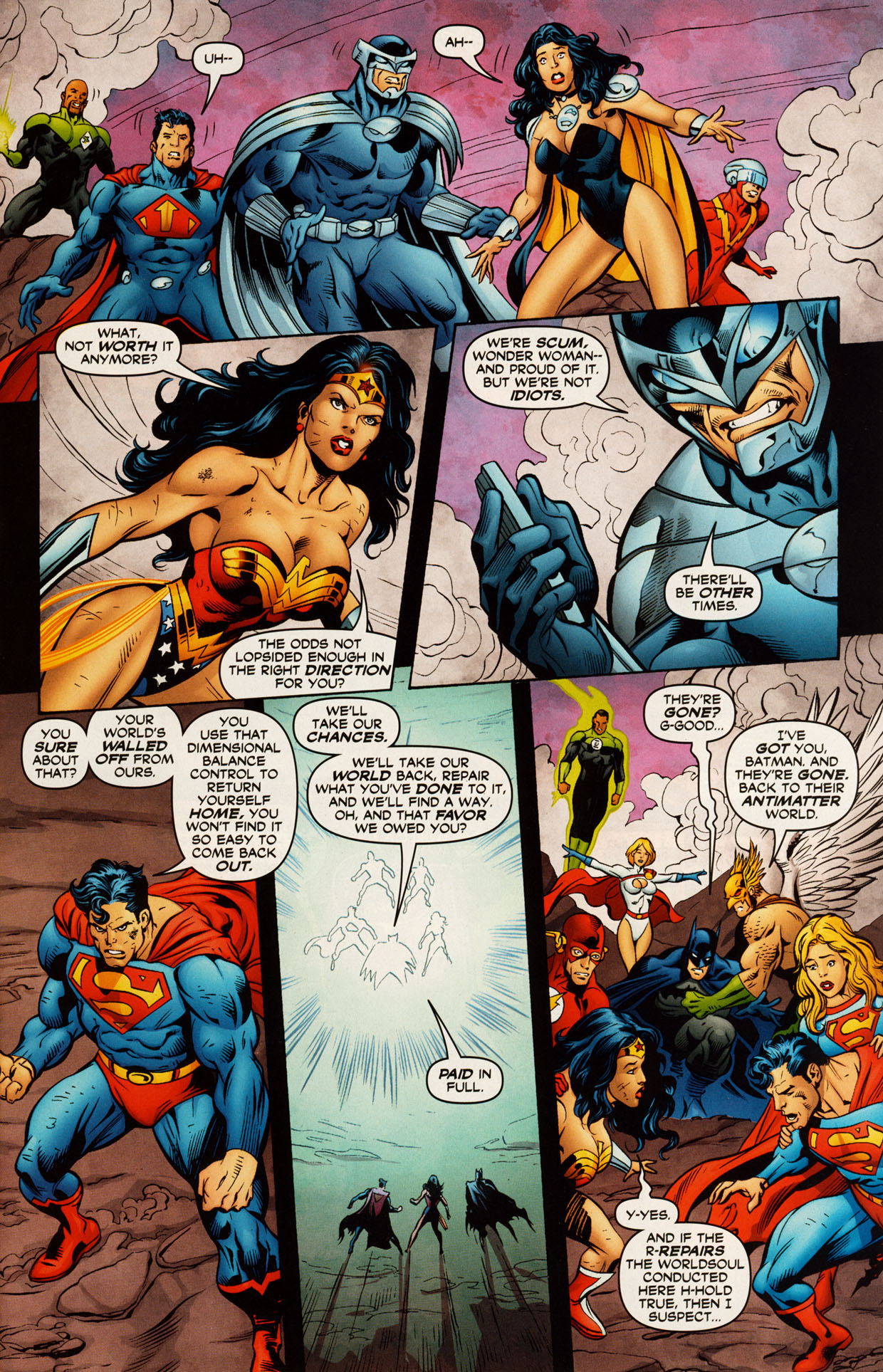 Read online Trinity (2008) comic -  Issue #52 - 10