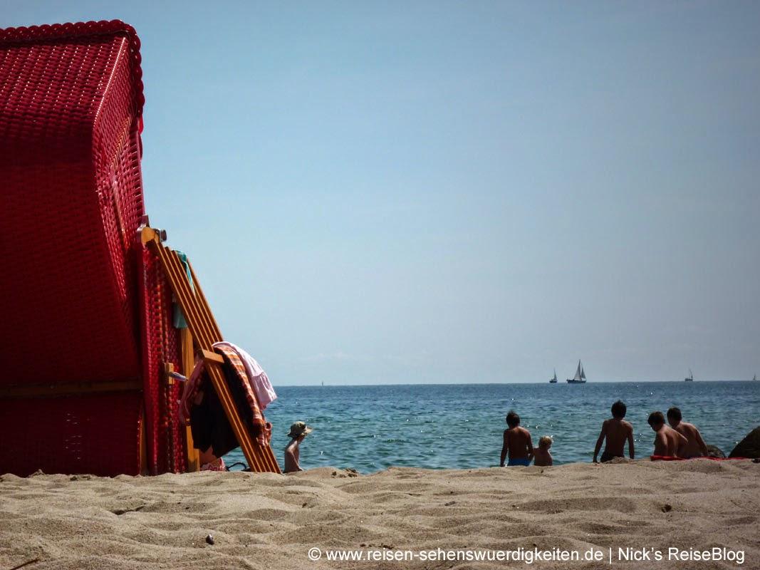 Ostseeurlaub in Schönhagen am Strand