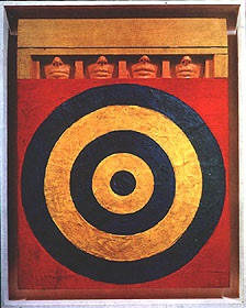 Target with Four Faces