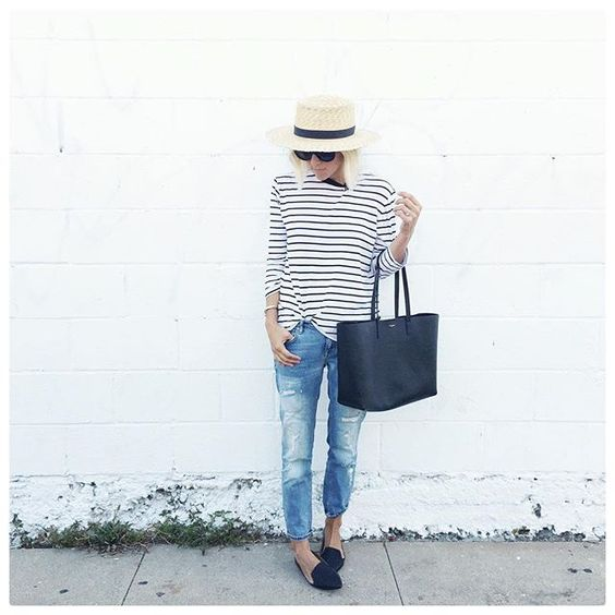 striped-tee-jeans-hat-2