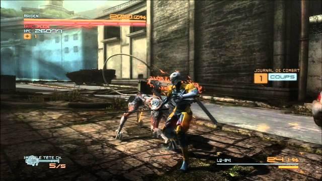 Metal Gear Rising Revengeance PC Gameplay