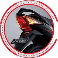 New Sharp Led Tail Light HONDA SUPRA X 125 SW 2018 Sejahtera Mulia Cirebon