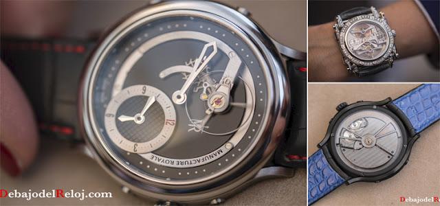 Manufacture Royal Basel 2016 debajo del reloj