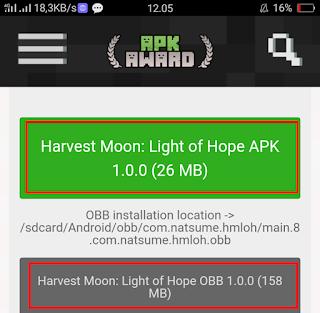 Cara Download Harvest Moon Light of Hope 4