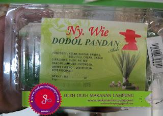 dodol pandan lampung WIE