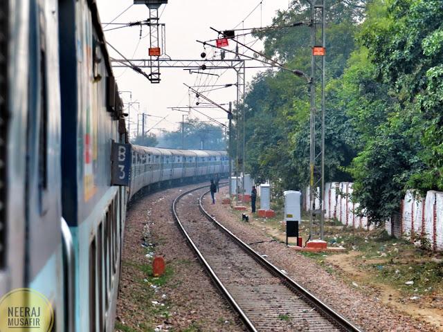 दिल्ली से गोवा की ट्रेन