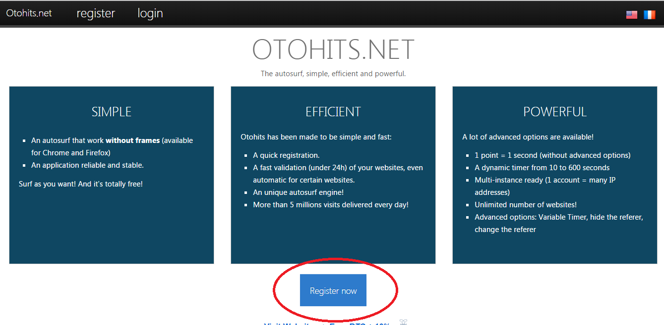 Otohits Traffic Exchange