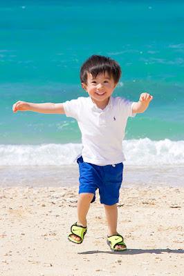 沖縄 ファミリーロケーションフォト 海