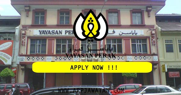 Jawatan Kosong di Yayasan Perak