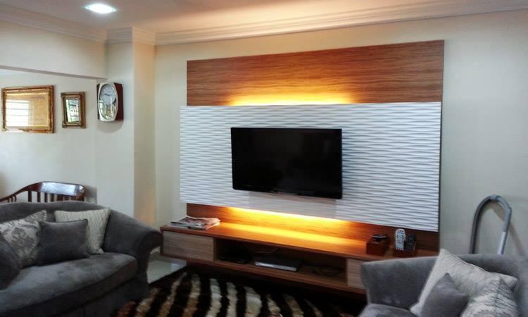 Tv Unit Decoration Ideas: Innovative Wall Decorations For TV Unit Designs