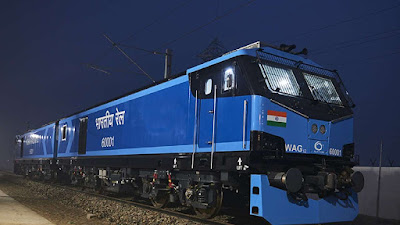 India's 1st All Electric Superfast Train flagged off