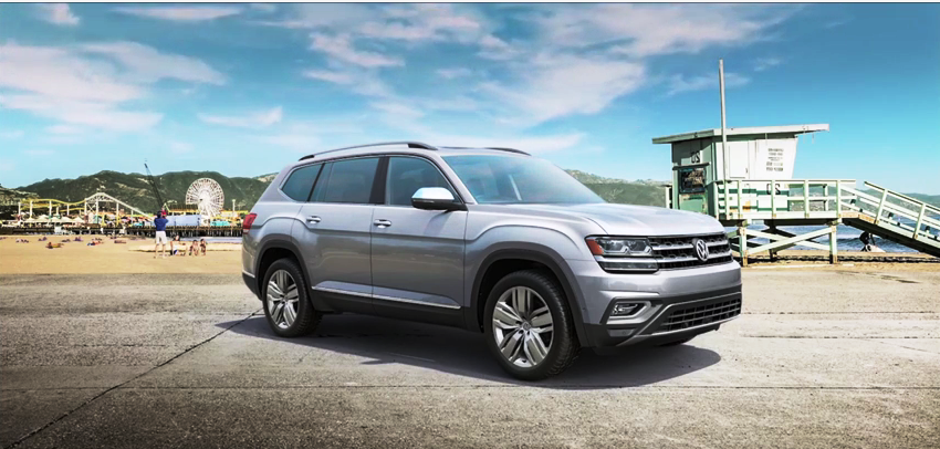 2017 Volkswagen ATLAS Interior design detailed videos - famous brands and products