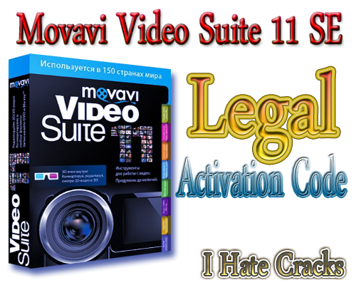 Get Movavi Video Suite 11 SE With Legal Activation Code