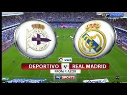 Real Madrid CF VS Deportivo La Coruna, Idman Azerbaycan, Varzish Sport HD, AzerSpace , Maiwand tv,Lemar TV HD, Arezu TV, Tolo TV HD, Tolo TV HD, Sony Six, Sony Six HD, KTRK Sport, Eutelsat ,