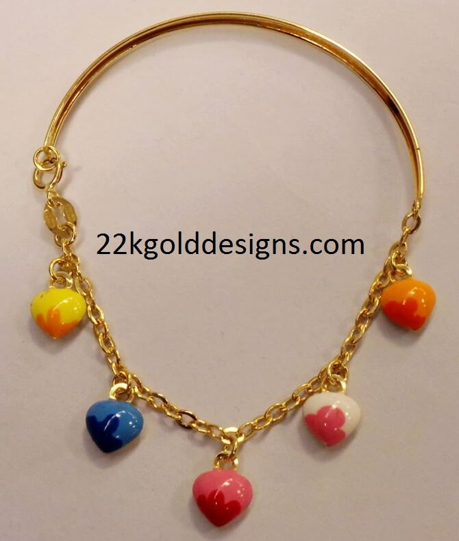 Little Girls Fashion Gold Necklace Designs