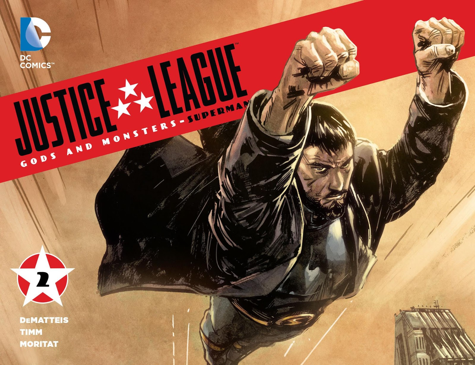 Weird Science DC Comics: Justice League: Gods and Monsters