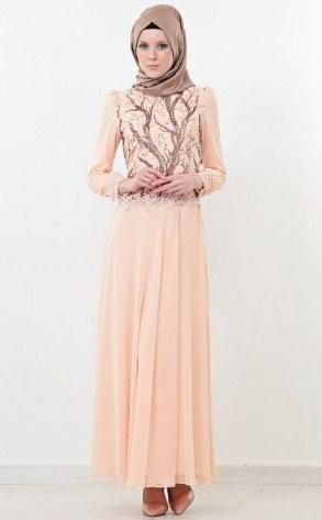 Model baju muslim wanita terbaru modern