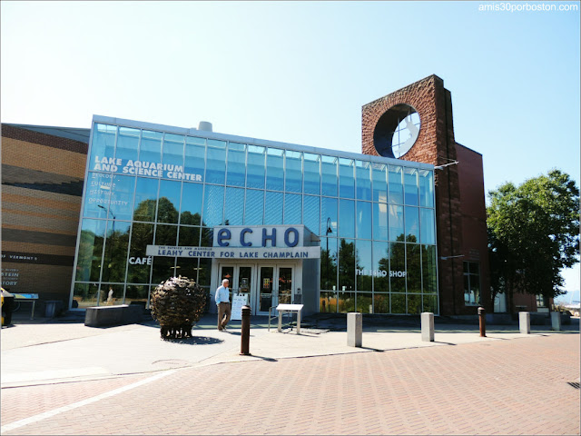 Echo Lake Aquarium and Science Center en Burlington, Vermont