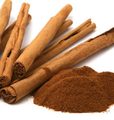 Cinnamon stick and powder are good for treating headaches.