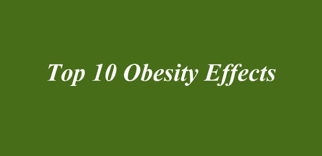 Top 10 Obesity Effects